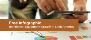 free infographic on medical equipment growth in latin america