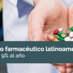 El mercado farmacéutico latinoamericano crece en un 9% al año