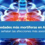 Las enfermedades más mortíferas en Argentina
